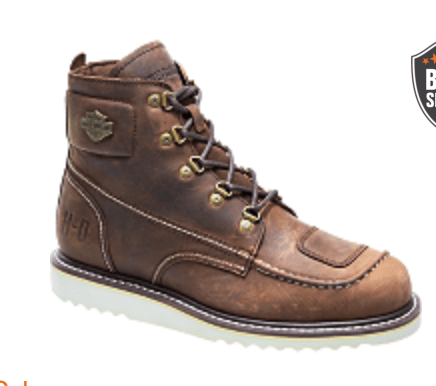 Harley Davidson Men's Motorcycle boots review