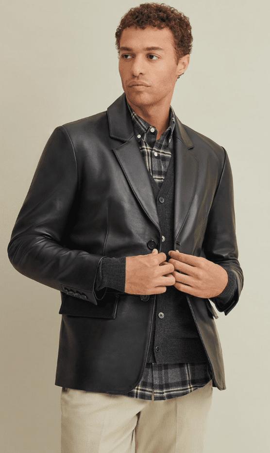 Wilsons Leather blazer review