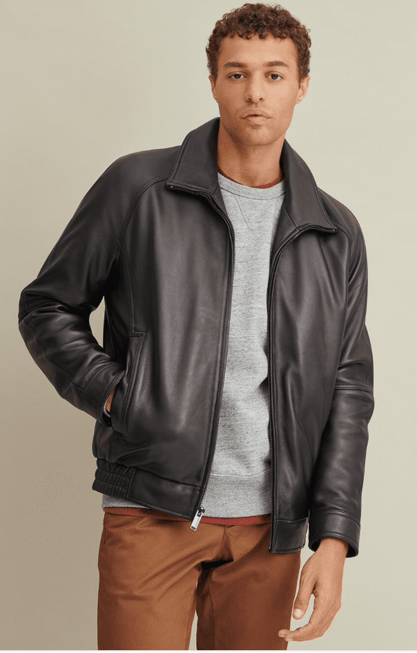 Wilsons Leather bomber jacket review