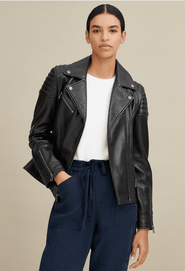 Wilsons Leather Motorcycle jacket for women review