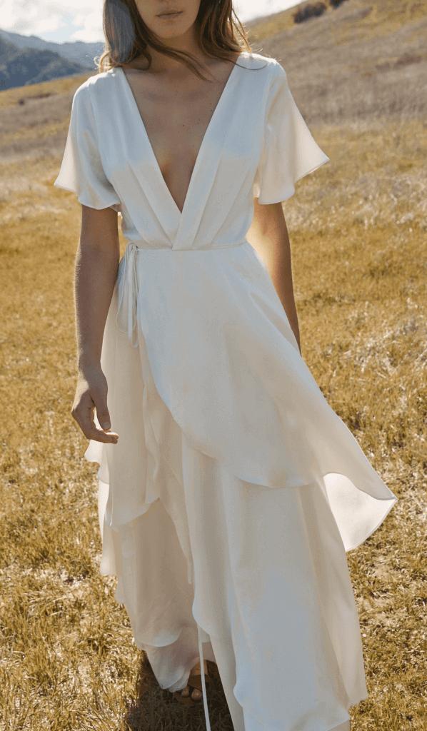 christy dawn wedding dress review