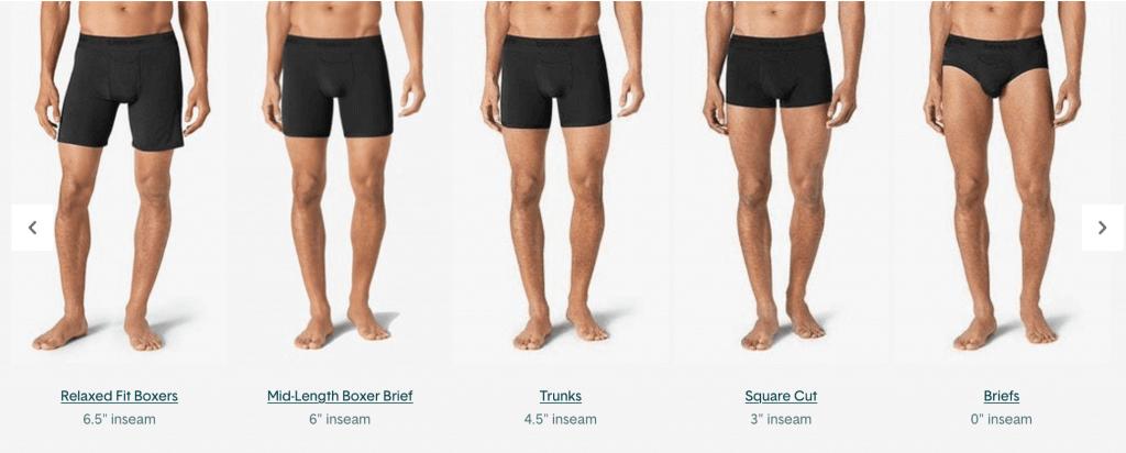 Tommy Johns Mens Underwear